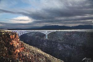 Gorge Bridge Sunrise