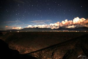 Night over the Gorge